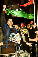 22.02.2011 - Libyan Protest outside Downing Street
