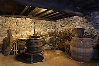 Europe/France/Aquitaine/64/Pyrénées-Atlantiques/Pays-Basque/Sare: La Maison Ortillopitz - le Chai voué au cidre