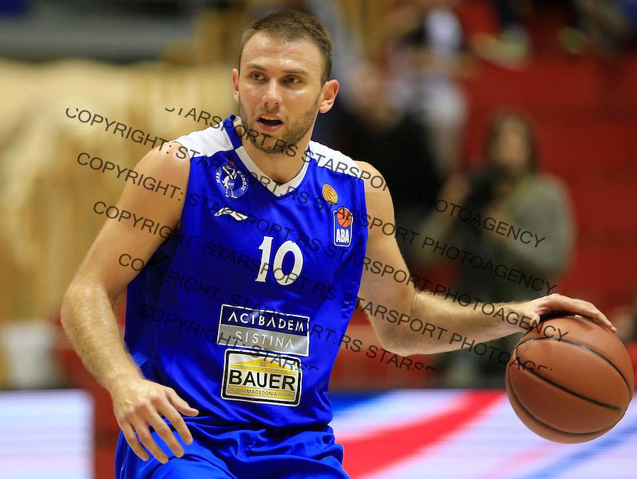 Kosarka ABA League season 2015-2016<br /> Partizan v MZT Skoplje<br /> Marko Simonovski<br /> Beograd, 06.10.2015.<br /> foto: Srdjan Stevanovic/Starsportphoto&copy;