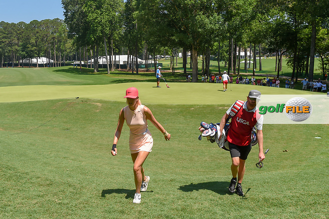 Michelle Wie (USA) heads to 3 during round 4 of the U.S. Women's Open Championship, Shoal Creek Country Club, at Birmingham, Alabama, USA. 6/3/2018.<br /> Picture: Golffile | Ken Murray<br /> <br /> All photo usage must carry mandatory copyright credit (© Golffile | Ken Murray)