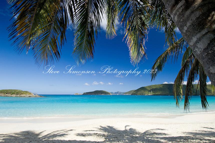 Cinnamon Bay<br /> Virgin Islands National Park.<br /> St John, US Virgin Islands