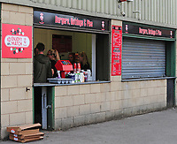 A general view of Sincil Bank Stadium, home of Lincoln City FC<br /> <br /> Photographer Andrew Vaughan/CameraSport<br /> <br /> The EFL Sky Bet League Two - Lincoln City v Swindon Town - Saturday August 11th 2018 - Sincil Bank - Lincoln<br /> <br /> World Copyright &copy; 2018 CameraSport. All rights reserved. 43 Linden Ave. Countesthorpe. Leicester. England. LE8 5PG - Tel: +44 (0) 116 277 4147 - admin@camerasport.com - www.camerasport.com