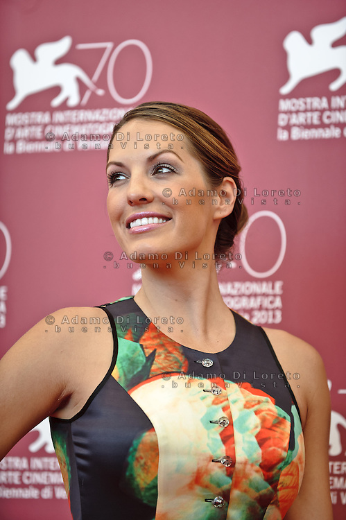 Actress Tenille Houston poses during the photocall of 'The Canyons' presented out of competition during the 70th Venice Film Festival on August 30, 2013. (Photo by Adamo Di Loreto/BuenaVista*photo)