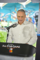 MIAMI, FL - JULY 11: MLB Commissioner Rob Manfred attends the All-Star Week Legacy Project with A-Rod & Giancarlo Stanton at Boys & Girls Clubs of Miami-Dade on July 11, 2017 in Miami, Florida. Credit: MPI10 / MediaPunch