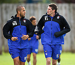 Madjid Bougherra and Kyle Lafferty