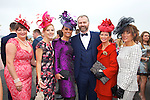 Enjoying Ladies Day at the Listowel Races on Friday and meeting Daithi O Se were: Sheila O'Sullivan, Jordanna O'Connor, Tasha O'Connor, Mary Wolfe and Siobhan Kennedy