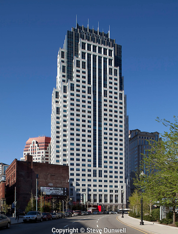 One Financial Center (State Street), Boston, MA (Jung Brannen = architect)  from 150 Lincoln Street aka One Lincoln St.
