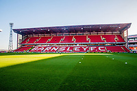 Barnsley's East stand before the Sky Bet Championship match between Barnsley and Leeds United at Oakwell, Barnsley, England on 25 November 2017. Photo by Stephen Buckley / PRiME Media Images.