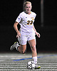Massapequa No. 23 Skylar Vitiello controls the ball during the Nassau County varsity girls' soccer Class A final against Port Washington at Cold Spring Harbor High School on Tuesday, November 3, 2015. Massapequa won by a score of 3-2.<br /> <br /> James Escher