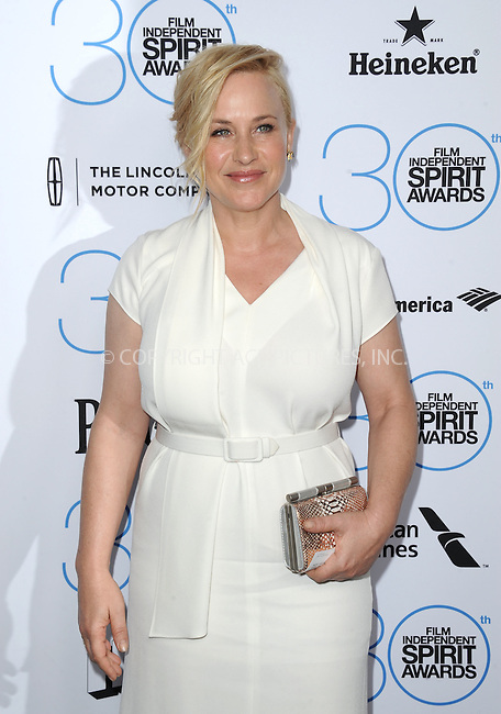 WWW.ACEPIXS.COM<br /> <br /> January 10 2015, LA<br /> <br /> Patricia Arquette attending the 2015 Film Independent Filmmaker Grant and Spirit Awards nominee brunch at the BOA Steakhouse on January 10, 2015 in West Hollywood, California.<br /> <br /> By Line: Peter West/ACE Pictures<br /> <br /> <br /> ACE Pictures, Inc.<br /> tel: 646 769 0430<br /> Email: info@acepixs.com<br /> www.acepixs.com