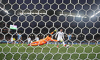 England's Wayne Rooney Scores Equalising goal in 2-1 defeat