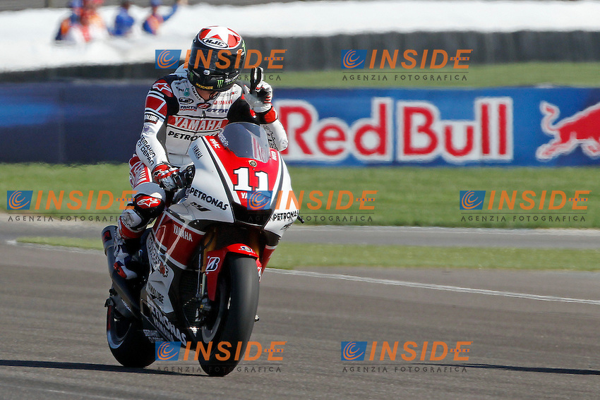 .27-08-2011 Indianapolis (USA).Motogp - Motogp.in the picture: Ben Spies - Yamaha factory team