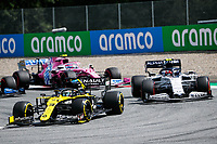 12th July 2020; Styria, Austria; FIA Formula One World Championship 2020, Grand Prix of Styria race day; FIA Formula One World Championship 2020, Grand Prix of Styria,  3 Daniel Ricciardo AUS, Renault DP World F1 Team