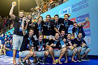 Team CROATIA Bronze <br /> Barcelona 28/07/2018 Piscines Bernat Picornell <br /> Men Medal Ceremony <br /> 33rd LEN European Water Polo Championships - Barcelona 2018 <br /> Photo Andrea Staccioli/Deepbluemedia/Insidefoto
