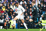 Real Madrid's midfielder Danilo Luiz da Silva during the match of La Liga between Real Madrid and   Real Sociedad at Santiago Bernabeu Stadium in Madrid, Spain. January 29th 2017. (ALTERPHOTOS/Rodrigo Jimenez)