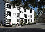 New Inn pub and hotel, Clapham village, Yorkshire Dales national park, England