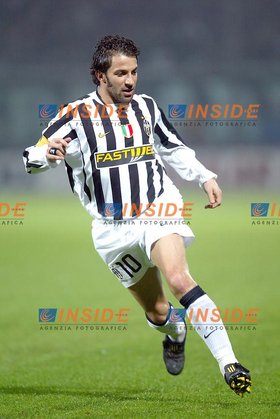 MODENA 22/11/2003<br /> MODENA JUVENTUS 0-2<br /> Alessandro Del Piero (Juventus)<br /> FOTO ANDREA STACCIOLI Insidefoto