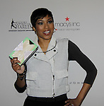 Alicia Quarles (E NY Correspondent) at Skating with the Stars - a benefit gala for Figure Skating in Harlem in its 17th year is celebrated with many US, World and Olympic Skaters honoring Michelle Kwan and Jeff Tweedy on April 7, 2014 at Trump Rink, Central Park, New York City, New York. (Photo by Sue Coflin/Max Photos)
