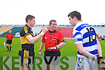 Dr. Crokes in action against  Castlehaven in the Munster Senior Club Final at Pairc Ui Caoimh on Sunday