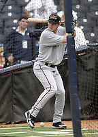 Tucson Sidewinders shortstop Stephen Drew #25 during practice before the Triple-A All-Star Game at Fifth Third Field on July 12, 2006 in Toledo, Ohio.  (Mike Janes/Four Seam Images)