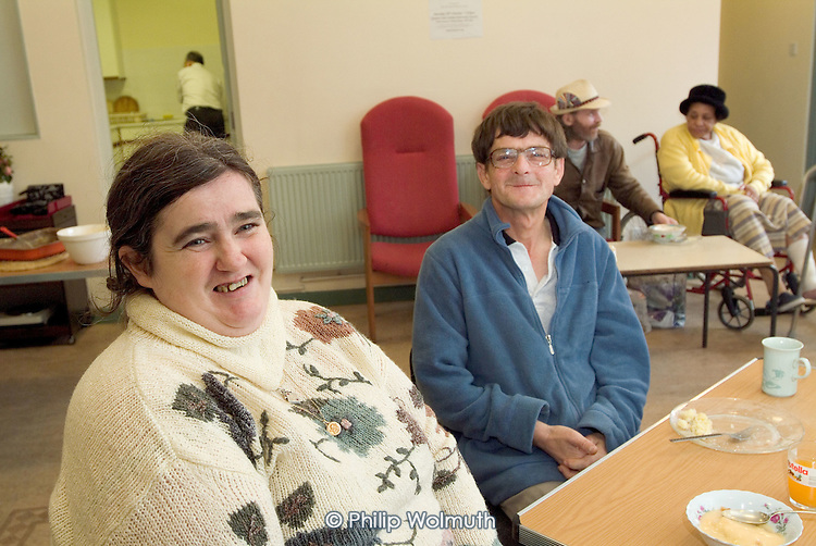Weekly drop-in session and free lunch at Harrow Road United Reform Church, Paddington, London