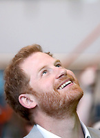 11 April 2019 - Prince Harry, Duke of Sussex during the official opening of the Barking & Dagenham Future Youth Zone in Dagenham, England.  The facility is created by the Charity OnSide Youth Zones and is the first of three facilities expected to open in 2019, which will provide a safe environment where young people can come and enjoy themselves, build key skills and raise their aspirations and confidence to create a happier and healthier generation. Photo Credit: ALPR/AdMedia