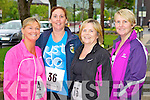 Pictured at the 10K run Summer Solstice in aid of the Irish heart foundation in Tralee on Saturday from left  Joan McElligott (Tralee) Kitsy Fitzgerald (Tralee) Yvonne Doherty (Tralee) Lorraine Fitzgerald (Knocknagoshel)