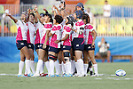 Japan Women's team group (JPN), <br /> AUGUST 6, 2016 - /Rugby : <br /> Women's Pool Round Pool C <br /> between  Great Britain 0-40 Japan Women's <br /> at Deodoro Stadium <br /> during the Rio 2016 Olympic Games in Rio de Janeiro, Brazil. <br /> (Photo by Yusuke Nakanishi/AFLO SPORT)