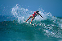 Lisa Andersen (USA) . Rip Curl  Pro, Hossegor, France 1997.  .Photo:  joliphotos.com