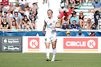 Cary, North Carolina  - Saturday June 03, 2017: Becky Sauerbrunn during a regular season National Women's Soccer League (NWSL) match between the North Carolina Courage and the FC Kansas City at Sahlen's Stadium at WakeMed Soccer Park. The Courage won the game 2-0.