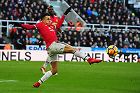 Alexis Sanchez of Manchester United during Newcastle United vs Manchester United, Premier League Football at St. James' Park on 11th February 2018