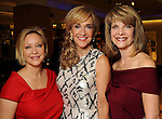 From left: Tina Pyne, honoree Jana Arnoldy and Kim Tutcher at the Houston Chronicle's Best Dressed announcement party at Neiman Marcus Wednesday Feb 01,2012. (Dave Rossman/For the Chronicle)