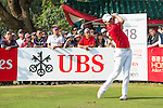 Danny Willett of England tees off during the 58th UBS Hong Kong Golf Open as part of the European Tour on 11 December 2016, at the Hong Kong Golf Club, Fanling, Hong Kong, China. Photo by Marcio Rodrigo Machado / Power Sport Images