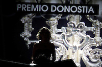 Edurne Ormazabal attends the 'Donostia' Award 2013 ceremony during the 61 San Sebastian Film Festival, in San Sebastian, Spain. September 22, 2013. (ALTERPHOTOS/Victor Blanco) /NortePhoto