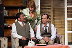 """Jose Luis Gago, Estrella Blanco and Victor Benedé at """"Usted puede ser un asesino"""" Theater play in Muñoz Seca Theater, Madrid, Spain, September 07, 2015. <br /> (ALTERPHOTOS/BorjaB.Hojas)"""