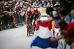 Team Sunweb in action during Stage 2 of the 2019 Tour de France a Team Time Trial running 27.6km from Bruxelles Palais Royal to Brussel Atomium, Belgium. 7th July 2019.<br /> Picture: ASO/Pauline Ballet | Cyclefile<br /> All photos usage must carry mandatory copyright credit (© Cyclefile | ASO/Pauline Ballet)