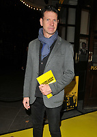Lloyd Owen at the &quot;Glengarry Glen Ross&quot; press night, Playhouse Theatre, Northumberland Avenue, London, England, UK, on Thursday 09 November 2017.<br /> CAP/CAN<br /> &copy;CAN/Capital Pictures