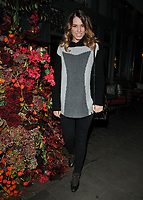 Amber Le Bon at the Ivy Chelsea Garden's Winter Garden launch party, The Ivy Chelsea Garden, King's Road, London, England, UK, on Sunday 05 November 2017.<br /> CAP/CAN<br /> &copy;CAN/Capital Pictures