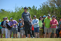 Zach Johnson (USA) watches his tee shot on 3 during Round 4 of the Valero Texas Open, AT&amp;T Oaks Course, TPC San Antonio, San Antonio, Texas, USA. 4/22/2018.<br /> Picture: Golffile | Ken Murray<br /> <br /> <br /> All photo usage must carry mandatory copyright credit (&copy; Golffile | Ken Murray)