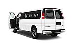 Car images of 2017 GMC Savana-Passenger 3500-LS-Ext 5 Door Passenger Van Doors