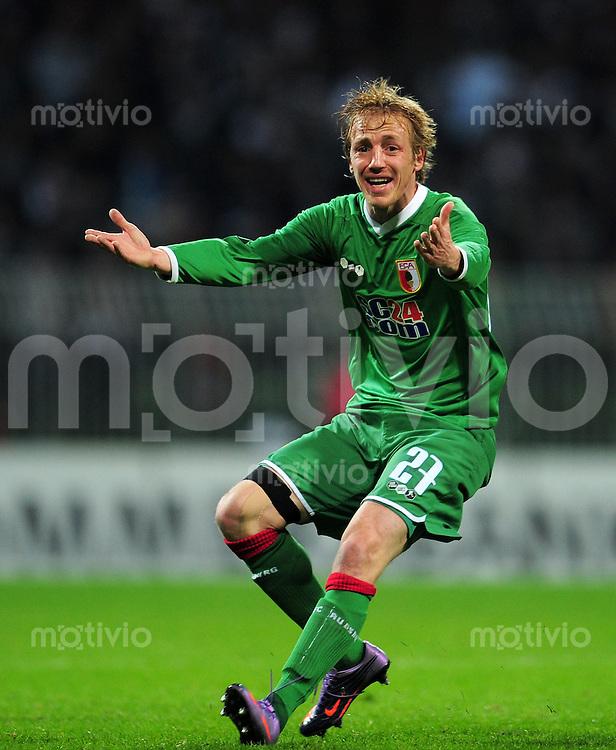 FUSSBALL   DFB POKAL   SAISON 2009/2010  HALBFINALE SV Werder Bremen - FC Augsburg                    23.03.2010 Michael THURK (Augsburg)