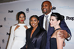 (Left to right) Padma Lakshmi, Gabrielle Union, Alonzo Mourning, and Julianna Marguilies arrive at the 2017 INSPIRE A DIFFERENCE honors event by Investigation Discovery and PEOPLE, at the Dream Hotel Downtown, on November 2, 2017.