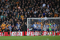 Yves Bissouma of Brighton & Hove Albion clears the ball during Wolverhampton Wanderers vs Brighton & Hove Albion, Premier League Football at Molineux on 7th March 2020