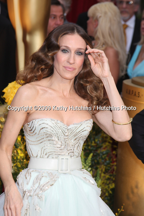 Sarah Jessica Parker  arriving at the 81st Academy Awards at the Kodak Theater in Los Angeles, CA  on.February 22, 2009.©2009 Kathy Hutchins / Hutchins Photo...                .