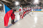 Bonnyville, AB - Dec 11 2018 - Czech Republic vs. USA during the 2018 World Junior A Challenge at the R.J. Lalonde Arena in Bonnyville, Alberta, Canada (Photo: Matthew Murnaghan/Hockey Canada)