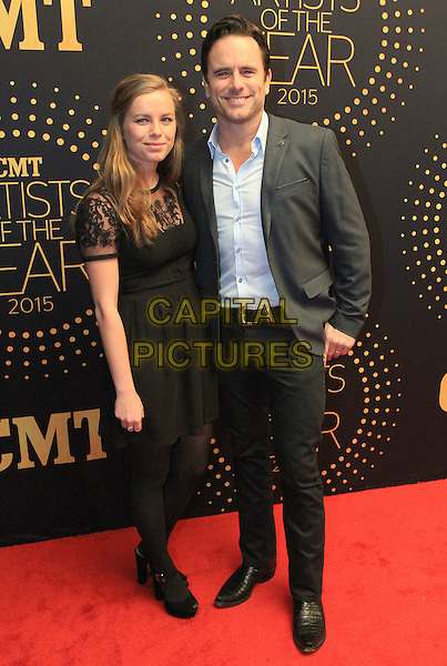 02 December 2015 - Nashville, Tennessee - Charles Esten and daughter Taylor Esten. 2015 &quot;CMT Artists of the Year&quot; held at Schermerhorn Symphony Center. <br /> CAP/ADM/BM<br /> &copy;BM/ADM/Capital Pictures