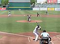 Masahiro Tanaka (RailRiders), MAY 27, 2015 - 3A : New York Yankees pitcher Masahiro Tanaka pitches  during a minor league baseball game against the Pawtucket Red Sox at McCoy Stadium in Pawtucket, Rhode Island, United States. (Photo by AFLO)