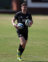 PRETORIA, SOUTH AFRICA - OCTOBER 05: Beauden Barrett during the Rugby Championship New Zealand All Blacks captain's run at St David's Marist Inanda in Sandown, South Africa on Friday, October 5, 2018. Photo: Steve Haag / stevehaagsports.com