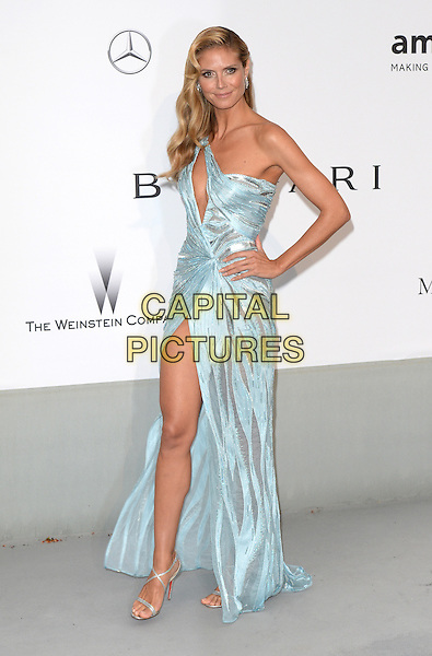 CAP D'ANTIBES, FRANCE - MAY 22: Heidi Klum attends amfAR's 21st Cinema Against AIDS Gala, Presented By WORLDVIEW, BOLD FILMS, And BVLGARI at the 67th Annual Cannes Film Festival on May 22, 2014 in Cap d'Antibes, France. <br /> CAP/CAS<br /> &copy;Bob Cass/Capital Pictures
