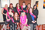 Caroline McKenna, Caheranne, Tralee, pictured with Lisa McKenna, Bridie Hanrahan, Anne McGinley, Emma Byrne, Veronica O'Connell, Marie Clapham, Martina Wadding, Marinella Seymore and Carolien Seymore as she held her hen night in Lord Kenmares restaurant, Killarney on Saturday night.........